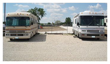 RV Storage near Austin TX